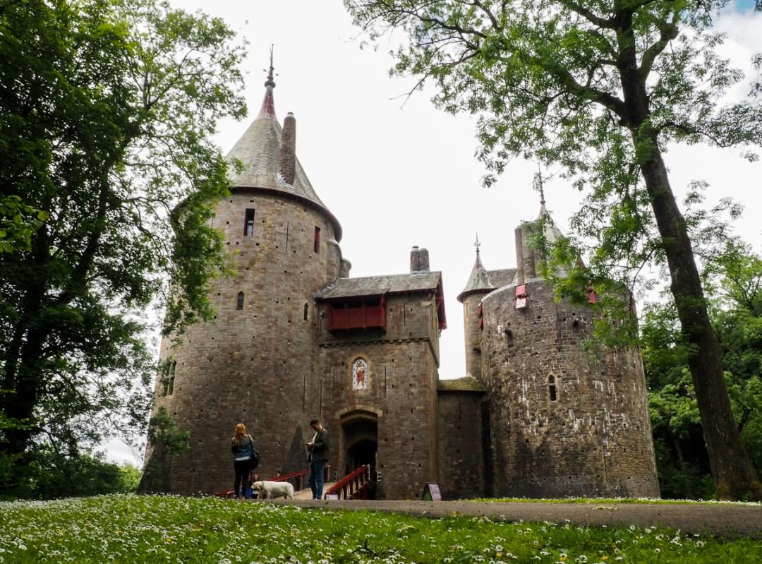 Castle Coch, l'un des plus majestueux château du Pays de Galles
