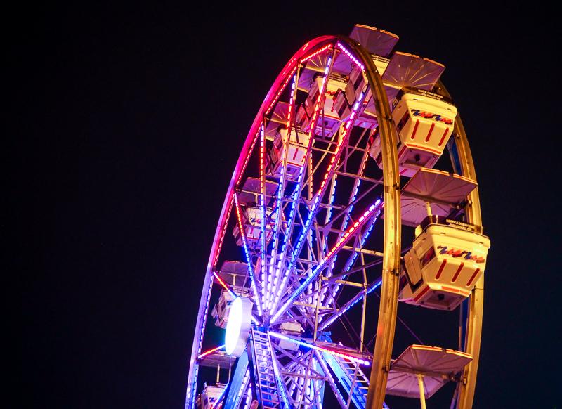 Grande roue au marché de Noël de Terrebonne