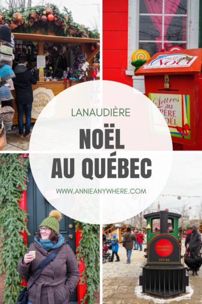 Noël se célèbre dans les marchés de Noël. Découvrez ceux de la région de Lanaudière (Joliette, L'Assomption et Terrebonne) pour déguster un vin chaud ou manger des beignes au sirop d'érables! #quebecoriginal #noel #voyage #lanaudiere