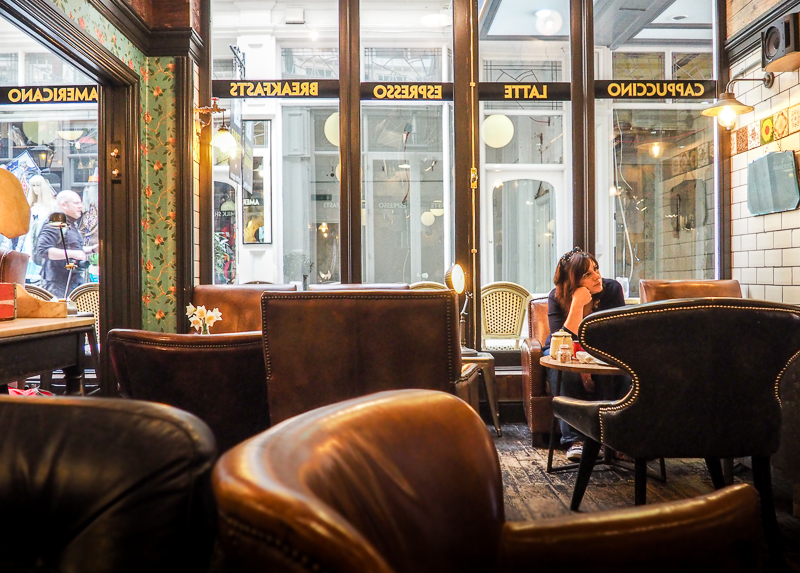 Coffee Barker à Cardiff - Mon endroit préféré dans Castle Arcade