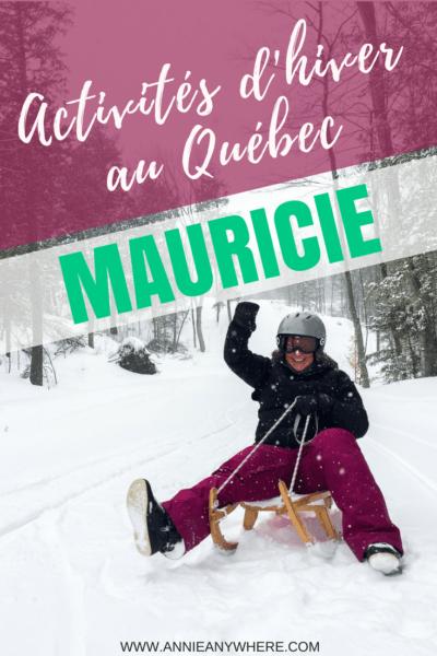 J'ai testé les activités à faire en hiver dans la région de la Mauricie au Québec: patinage en forêt, laser tag extérieur, rallye nocturne et luge alpine! Ce ne sont pas les idées de sports d'hiver qui manque à Trois-Rivières, Shawinigan et Saint-Elie-de-Caxton! #quebecoriginal #quebec #Mauricie #voyage #hiver