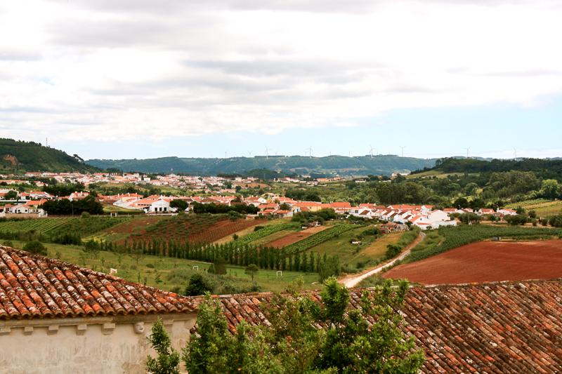 Paysage de l'ouest du Portugal