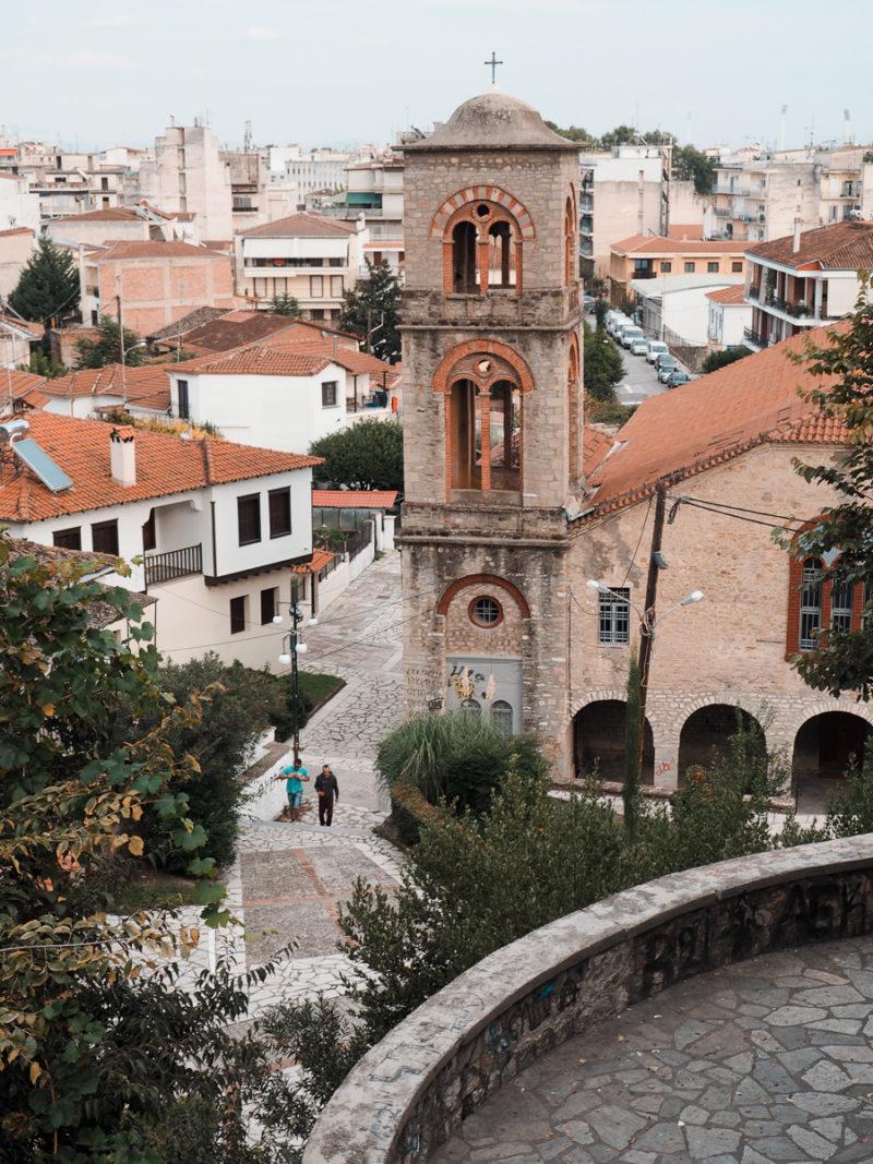 Tour de l'horloge à Trikala en Grèce