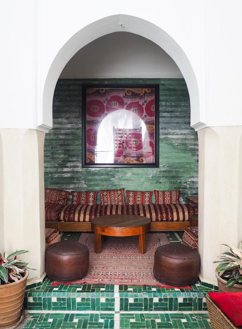 Où dormir dans un Riad à Marrakech - Au Riad Vert dans la vieille médina
