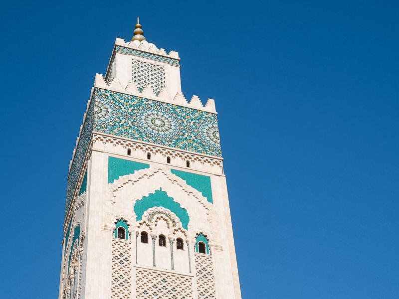 L'appel à la prière se fait 5 fois par jour à Casablanca