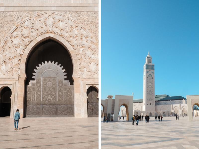 Visiter la mosquée de Casablanca au Maroc