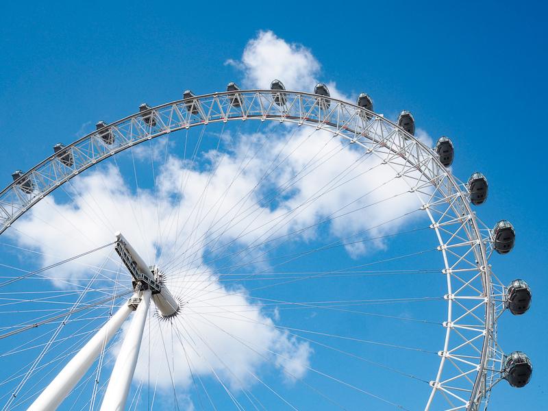 La grande roue de Londres: le London Eye