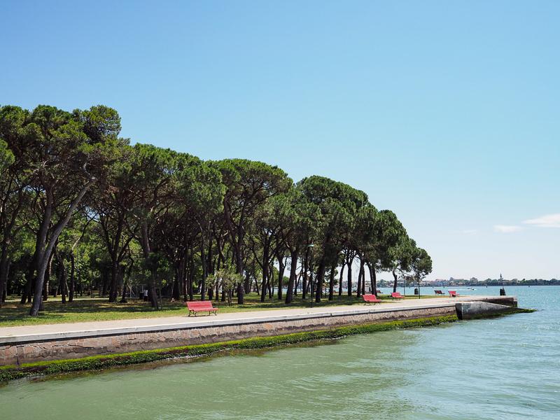 Jardins publics de Venise, un oasis dans le quartier Castello