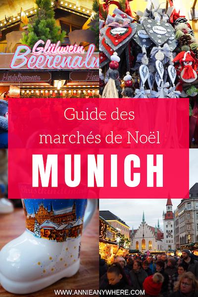 La tradition des marchés de Noël de Munich a vu le jour en 1310! C'est maintenant 17 marchés de Noël qui ont lieu dans cette ville d'Allemagne. J'en ai exploré plusieurs afin de vous concocter un guide pour vous y retrouver. Voici les meilleurs marchés de Noël à visiter à Munich #christmasmarket #munich #allemagne
