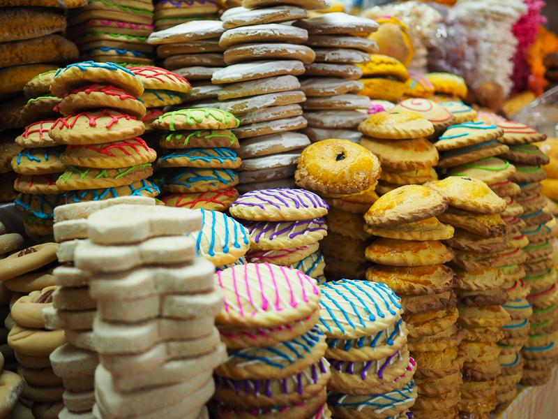 Pâtisseries mexicaines à déguster au Mercado de dulces de San Cristobal de las Casas