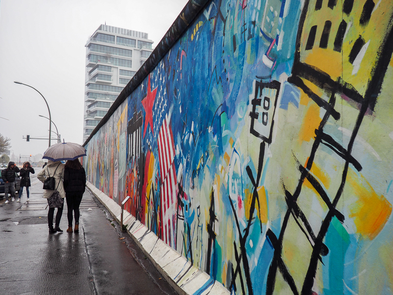 Mur de Berlin - East Side Gallery