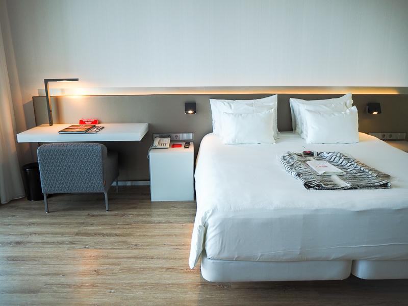 Chambre à l'hôtel nhow au Pays-Bas