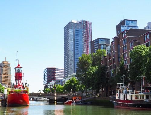 Guide des meilleurs hôtels et auberges de jeunesse à Rotterdam aux Pays-Bas