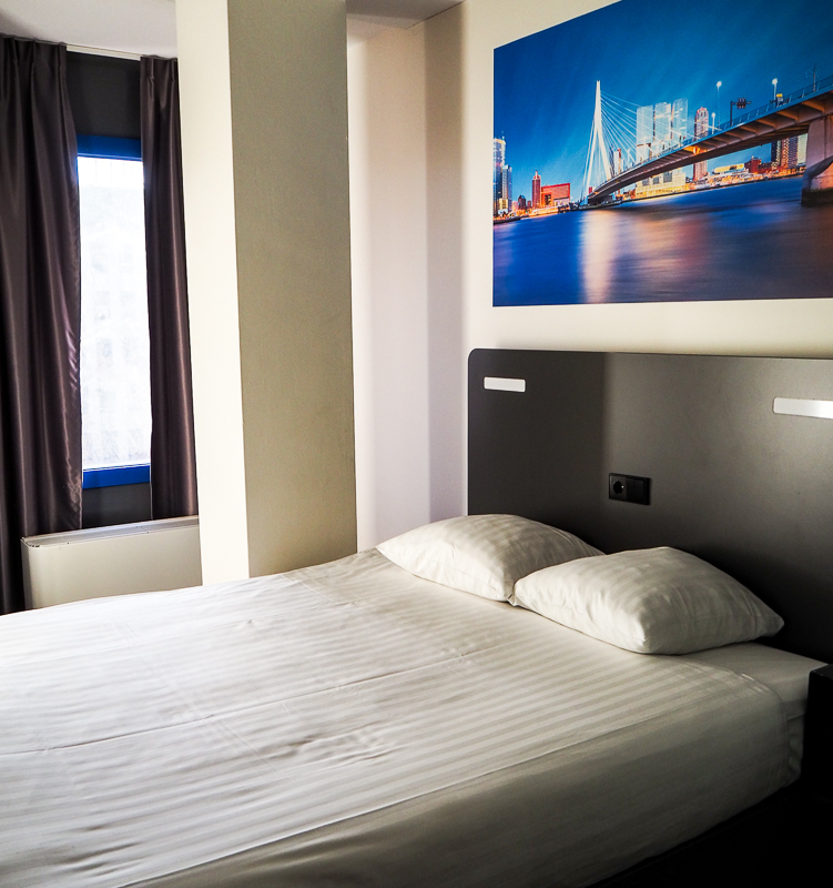 Chambre du easyHotel de Rotterdam