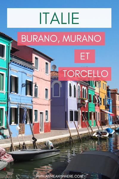 Dans la lagune de Venise en Italie, trois îles se visitent facilement en vaporetto. Voici quoi faire sur l'île colorée de Burano, Murano l'île des verreries et Torcello avec son église byzantine. Une escapade d'une journée depuis Venise, parfaite pour changer d'air! #Italie #Venise