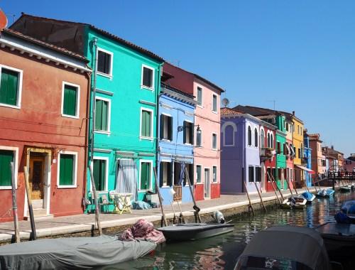 Visiter les îles de la lagunes de Venise en Italie