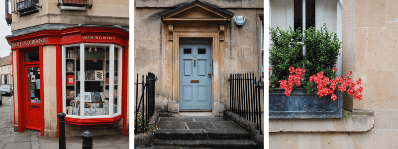 Visite touristique de la ville de Bath en Angleterre