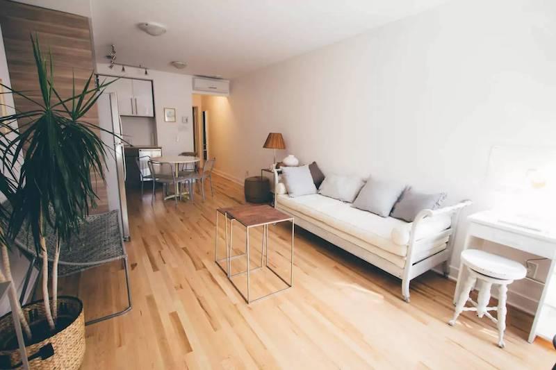 Appartement à louer sur Airbnb avec le service de conciergerie Luckey