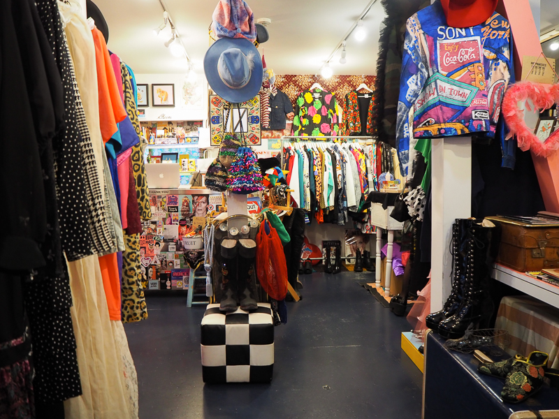 Boutique kawaii dans le quartier Harajuku de Tokyo