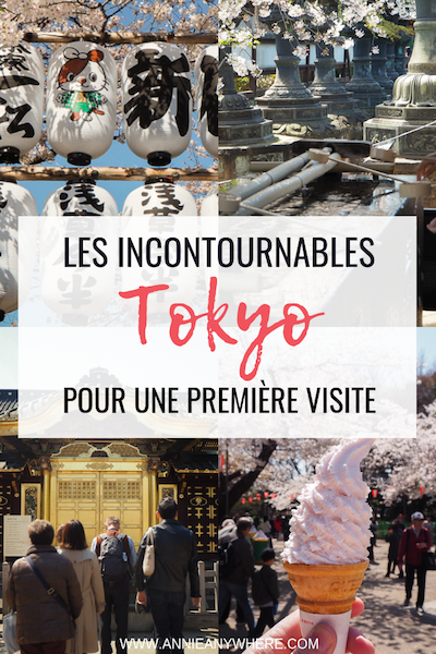Planifiez votre premier voyage à Tokyo avec cette liste d'incontournables à visiter par quartier. Utilisez les cartes pour vous repérer dans cette ville à visiter absolument lors de votre voyage au Japon! #tokyo @voyage