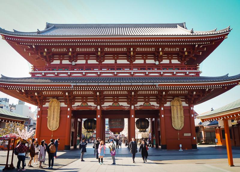 Temple Senso-ji, un incontournable à visiter à Tokyo