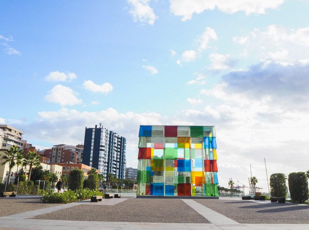 Cube du Centre Pompidou de Malaga