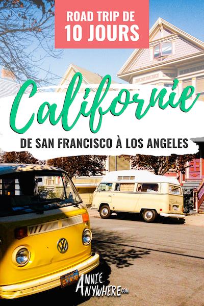 Road trip de 10 jours en Californie - Quoi faire et voir sur la route 1 de San Francisco à Los Angeles. Liste des incontournables et itinéraire incluant Big Sur et Yosemite National Park. #californie #USA #voyage