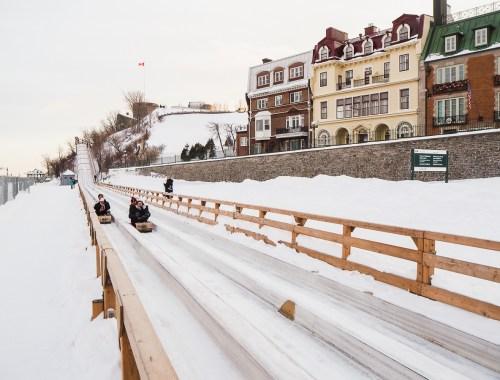 Visiter la ville de Québec en deux jours en hiver