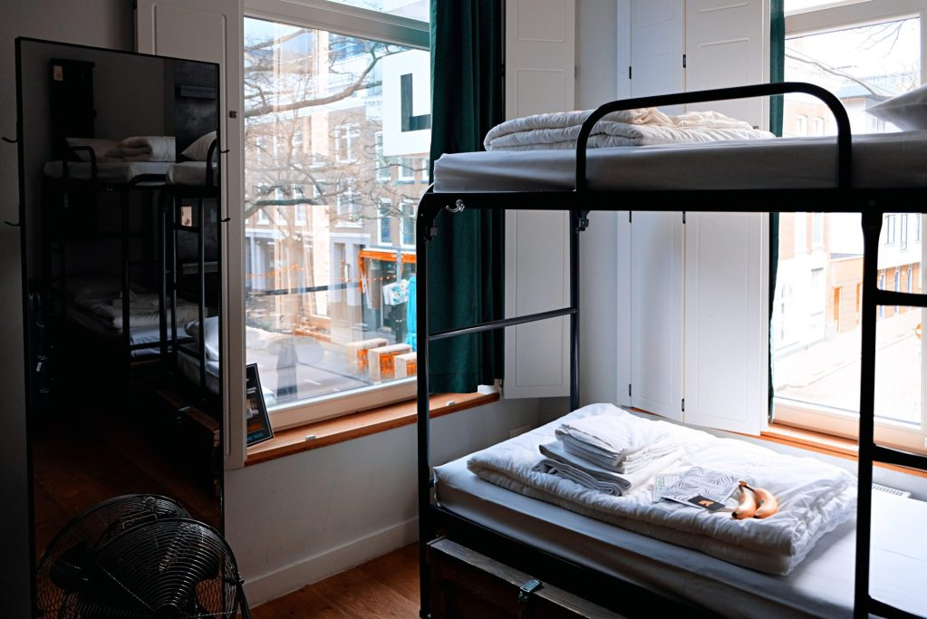 type d'hébergement: Dortoir dans une auberge de jeunesse