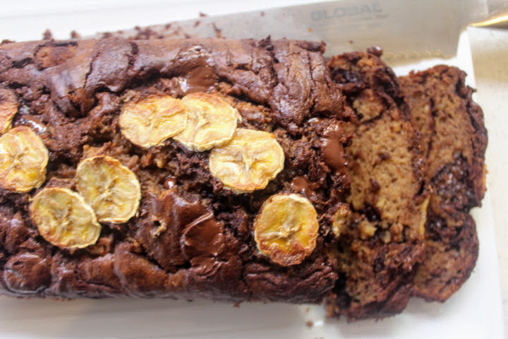 The Best Chocolate Chip Banana Bread Ever! Sugar and Dairy free