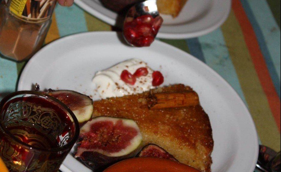 citrus & almond cake
