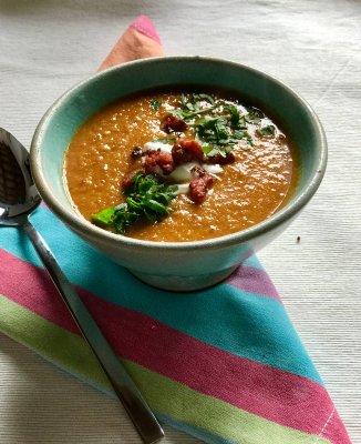 Annie B's Chorizo & Chestnut Soup