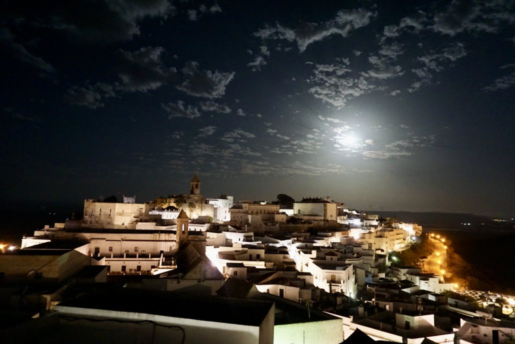 Vejer from Annie B's roof terrace