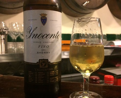Bottle of Sherry