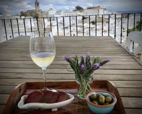 Wine and tasting in Vejer