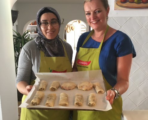 Moroccan baking at Annie B's
