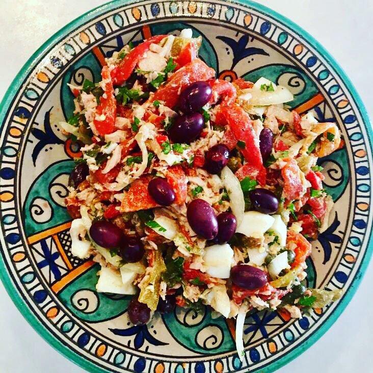 Tuna & Red Pepper Salad