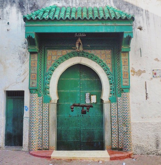 doors of Medina Tangier