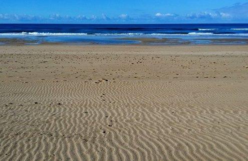 sandy beach costa de la luz