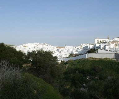 typical white village in andalucia