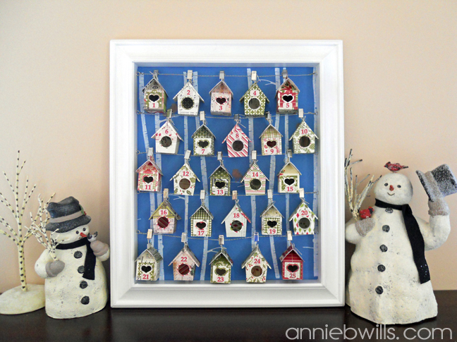 Birdhouse Advent Calendar by Annie Williams - Main