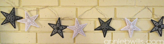 Starlight Garland by Annie Williams - Unlit