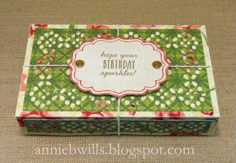 Gift Card Box For A Crafty Friend