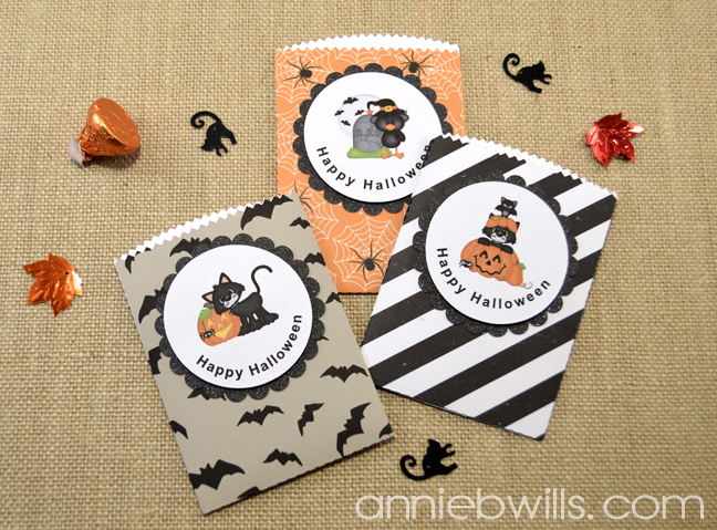 Print and Cut Halloween Treat Bags by Annie Williams - Full