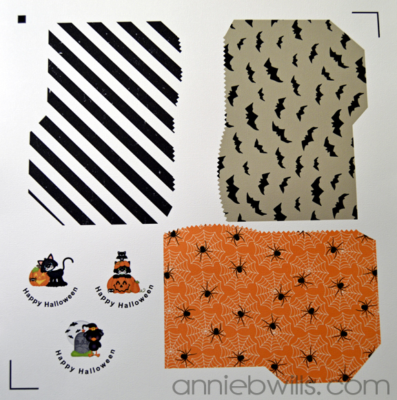 Print and Cut Halloween Treat Bags by Annie Williams - Print