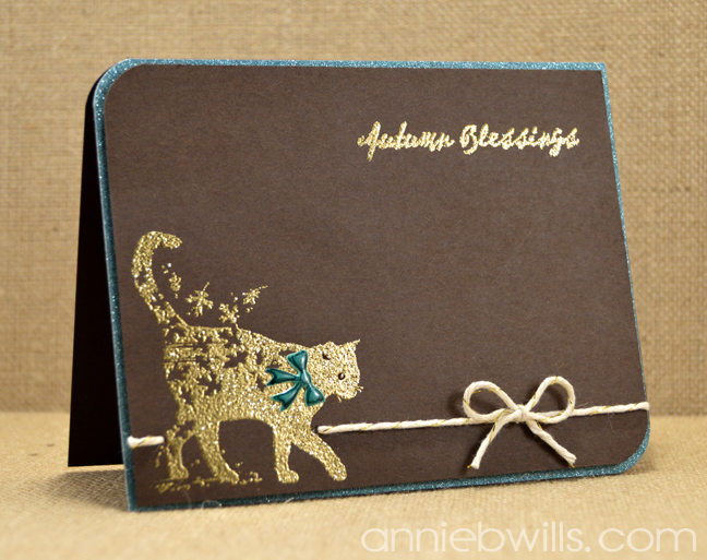 WW Autumn Blessings Card by Annie Williams - Main