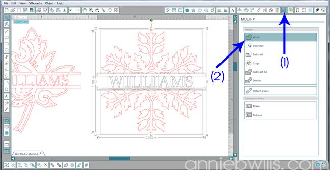 8 Split Monogram Napkins by Annie Williams - Weld