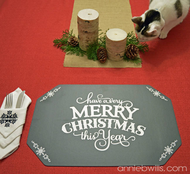 Holiday Chalkboard Placemats by Annie Williams - Blooter
