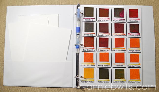 Peerless Watercolor Palettes - Travel Binder