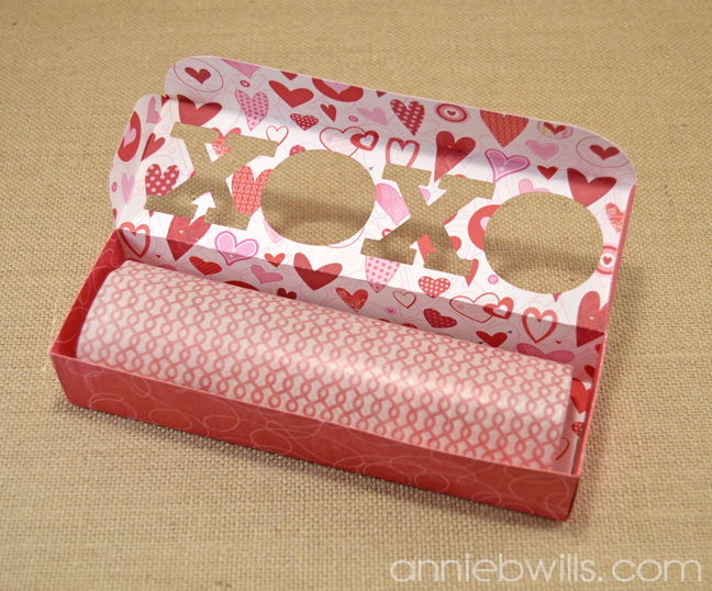 Valentine's Day Candy Boxes by Annie Williams - Glassine Wrap